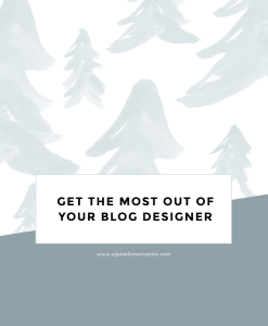 Get the most out of your blog designer